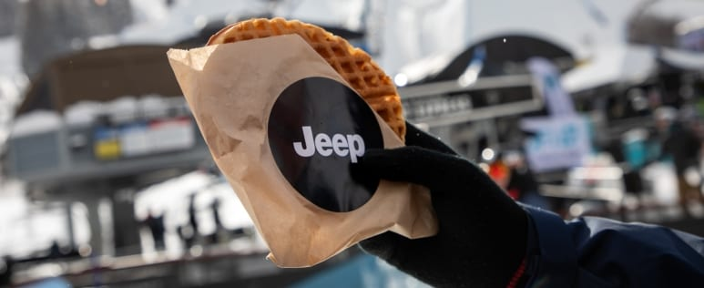 Jeep experiential marketing activation